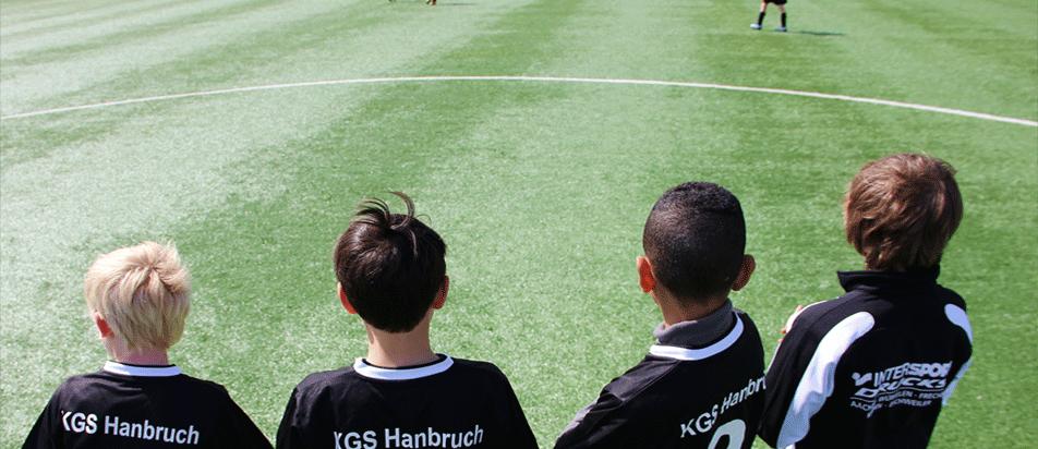 Fußball an der KGS Hanbruch