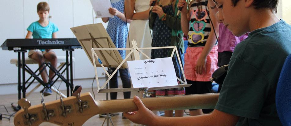 Musik an der Katholischen Grundschule Hanbruch